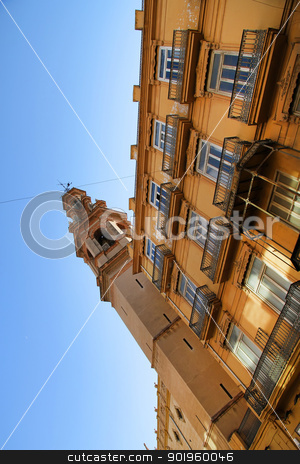 Historic Architecture in Valencia stock photo, Historic Architecture in the center of Valencia, Spain. by Michael Osterrieder