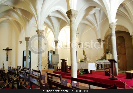 Interior of Mertola church, Portugal. stock photo, Interior of Mertola church, Portugal. by Inacio Pires