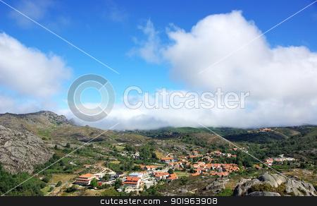 Castro Laboreiro village, north of Portugal. stock photo, Castro Laboreiro village, north of Portugal. by Inacio Pires