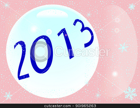 2013 New Year stock vector clipart, New year 2013 background by Kotto