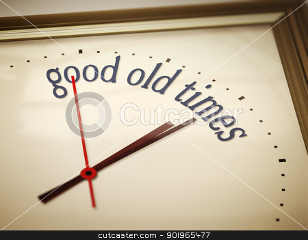 good old times stock photo, An image of a nice clock with good old times by Markus Gann