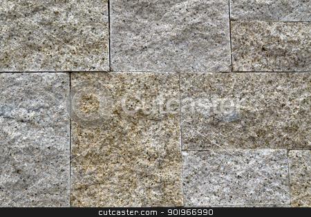 Stone Background stock photo, Texture of stone brick background  by Ingvar Bjork