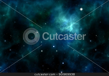 space and stars stock photo, An image of a space and stars background by Markus Gann