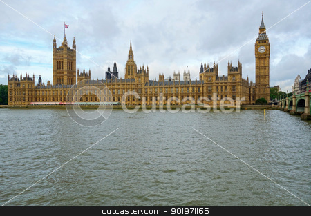 Westminster Palace Houses of Parliament, London England. stock photo, Westminster Palace Houses of Parliament, London England. by Stephen Rees
