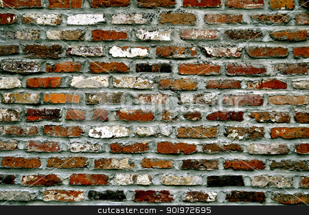Brick Wall stock photo, Brick Wall by Liane Harrold