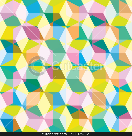 Eighties seamles background stock vector clipart,  by Michael Travers