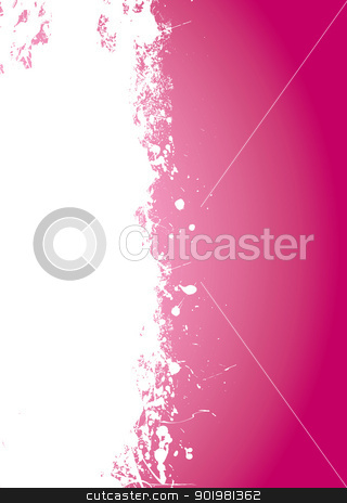 Pink splat grunge stock vector clipart, Pink splate background with white element and copy space by Michael Travers