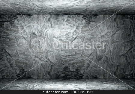 stone wall texture stock photo, Texture of old rock wall for background by Sergey Nivens