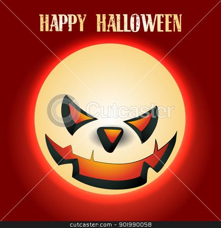vector halloween design stock vector clipart, vector halloween design illustration art by pinnacleanimates