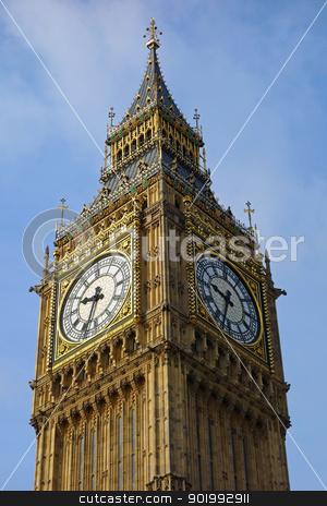 Big Ben Westminster Palace Elizabeth Clock Tower in London UK. stock photo, Big Ben Westminster Palace Elizabeth Clock Tower in London UK. by Stephen Rees