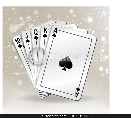 playing card stock vector clipart,  by zühal