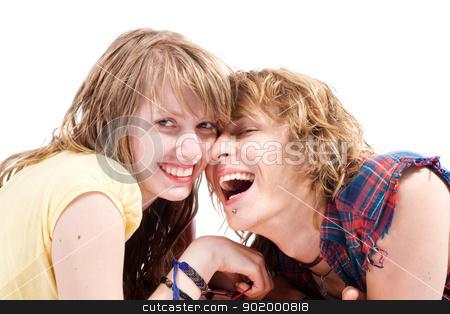 Portrait of smiling young beauty couple 8 stock photo, Portrait of smiling young beauty couple 8 by Sergii Sukhorukov