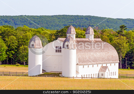 DH Day Barn stock photo, The HD Day Barn is an agricultural architectural masterpiece in Sleeping Bear Dunes National Lakeshore, Michigan. by Kenneth Keifer