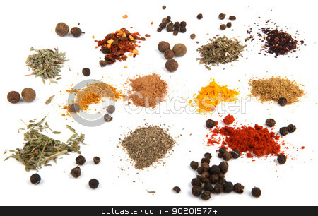 spices stock photo, spices by Nenov Brothers Images