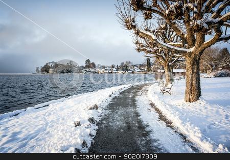 winter scenery stock photo, An image of a nice winter scenery by Markus Gann