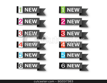 Ribbons-Sign-Symbol-Vector-New,Sold,Hot,Sale stock photo, vector image various applications, websites, print, icons, logo, sign, advertising, business, internet other uses, vector can adjust color your liking. Ribbon. by Milan Gudába