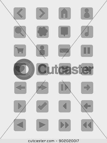 Vector Icon Pack of 28 stock vector clipart, modern vector icon pack with 28 different icons by Loryn