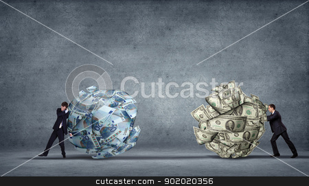 Corporate Income illustration stock photo, computer generated image - corporate income and financila issues by Sergey Nivens
