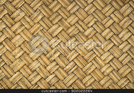 thai-style bamboo wooden texture stock photo, thai-style bamboo basketry wooden texture   in the country. by stockerman