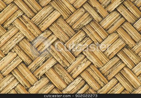 thai-style bamboo wooden texture stock photo, thai-style bamboo basketry wooden texture   in the country. by stockerman
