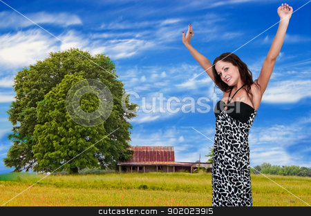 Woman with Allergies stock photo, Beautiful woman with a cold, hay fever or allergies by Robert Byron