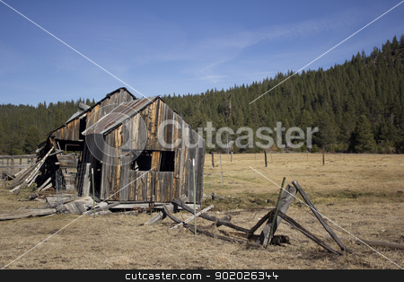 Old barn in Sierraville California stock photo, an old barn that has seen life come and go in Sierraville California. by Jeremy Baumann
