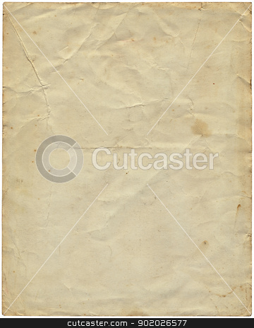 Old vintage paper from 1977. stock photo, Old vintage paper from 1977. by Stephen Rees