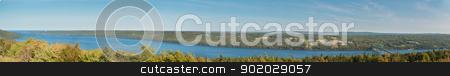 Region around Seal Island Bridge stock photo, Region around Seal Island Bridge, Boularderie East, Nova Scotia by Ulrich Schade