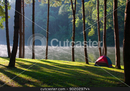 Landscape stock photo, bird eye view with Landscape concept by iroomm