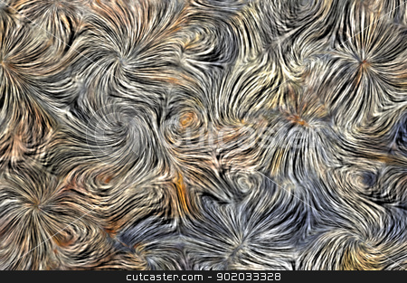 texture a la Vincent van Gogh stock photo, Abstract image - texture a la Vincent van Gogh by Siloto