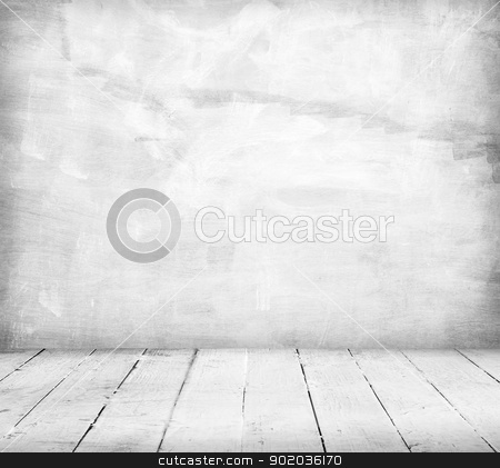 Vintage background stock photo, Interior, vintage background of stone wall and wooden floor by Imaster