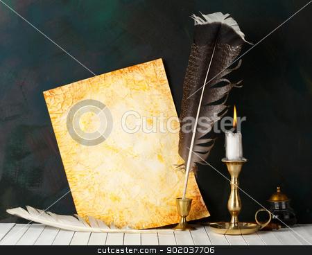 Manuscript stock photo, Manuscript by Tornelli Stefano