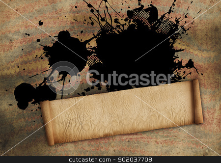 Old Paper Scroll stock photo, Old Paper Scroll by Tornelli Stefano