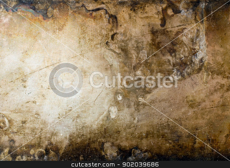 Grunge metal plate texture background. stock photo, Grunge metal plate texture background. by Oleksiy Fedorov
