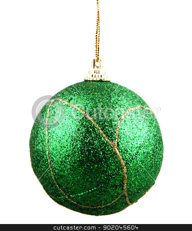 Christmas ball stock photo, Christmas ball. by Nenov Brothers Images