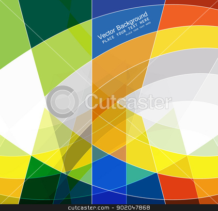 abstract colorful mosaic background wave vector  stock vector clipart, abstract colorful mosaic background wave vector  by bharat pandey