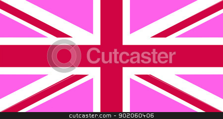 united kingdom pink flag stock photo, united kingdom gay pride pink flag illustration by Tudor Antonel adrian