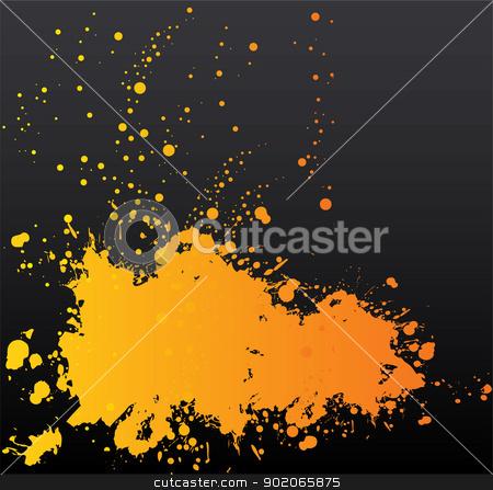 Splash banners stock vector clipart, Vector illustration of Splash banners by SonneOn
