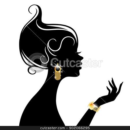 Vector illustration of Beauty woman stock vector clipart, Vector illustration of Vector illustration of Beauty woman by SonneOn