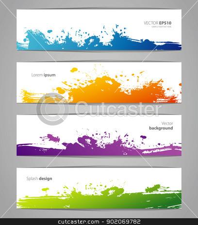Vegetables colorful doodles set stock vector clipart, Vector illustration of Vegetables colorful doodles set by SonneOn