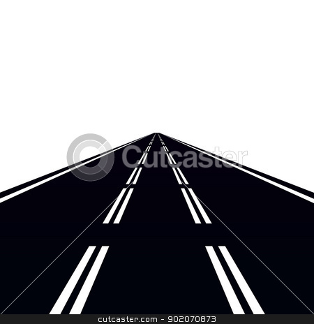 Road and traffic signs stock photo, Road and traffic signs. Illustration on white background. by Sergey Skryl