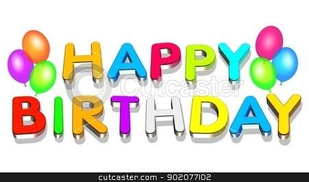 Happy Birthday stock photo, Happy Birthday by Tornelli Stefano