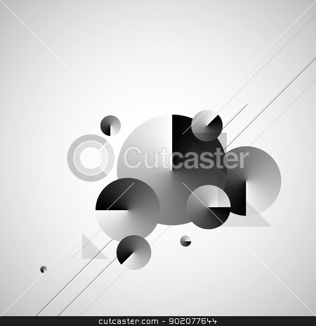 Abstract Modern Background Vector stock photo, Abstract Modern Background Vector by Godruma