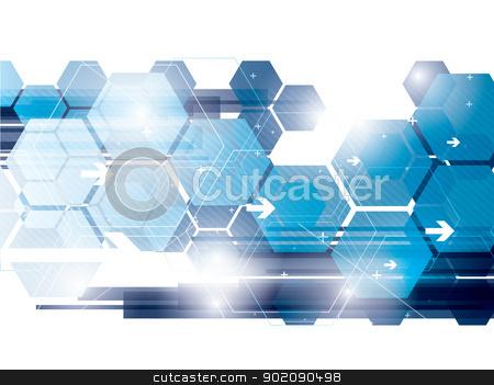 technology background stock vector clipart, abstract background technology in vector illustration created by Aurelio Scetta