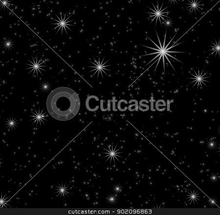 stars background   stock photo, black background  with a stars by Vitaliy Pakhnyushchyy