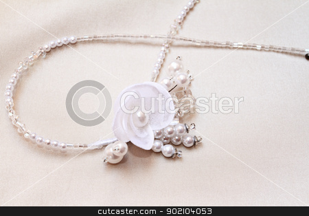 brides jewelry stock photo, beautiful brides jewelry - close up by Nneirda