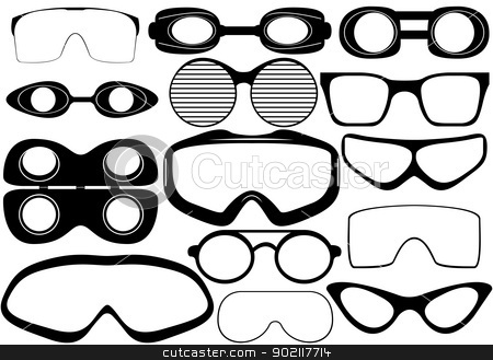 Goggles Stock Vector