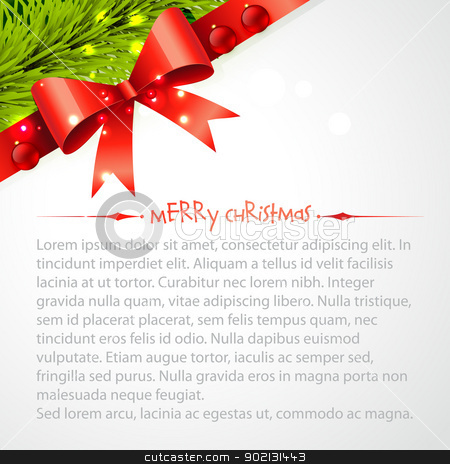 merry christas background stock vector clipart, beautiful merry christmas background with space for your text by pinnacleanimates