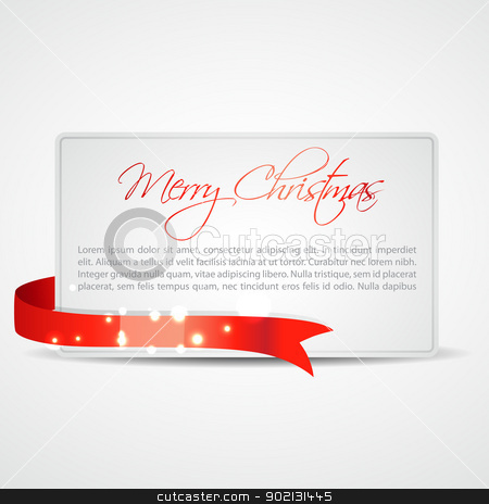 merry christmas card stock vector clipart, stylish merry christmas card design with space for your text by pinnacleanimates