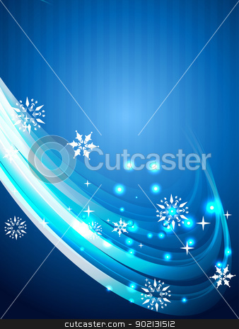 seasonal background stock vector clipart, stylish seasonal background with space for your text by pinnacleanimates